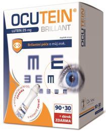 Ocutein Brillant Lutein 25mgDaVinci90+30tob.+dárek