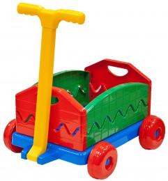 Vozík/Vlečka rozkládací s rukojetí