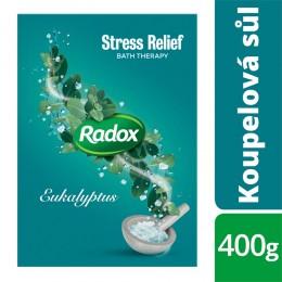 Radox sůl do koupele Stress Relief s eukalyptem