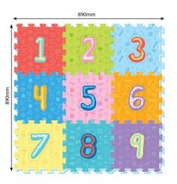 Pěnové puzzle Číslice
