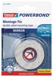 Tesa Montážní páska Powerbond na zrcadla 1,5 m x 19 mm
