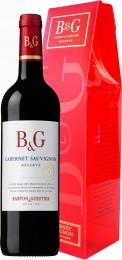 B&G Cabernet Sauvignon Reserve IGP, dárkové balení