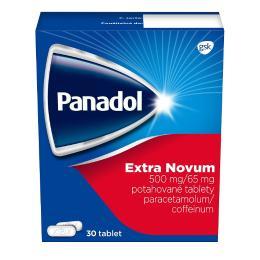 PANADOL EXTRA NOVUM 500MG/65MG potahované tablety 30 III