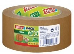 Tesa Papírová balicí páska hnědá, 50 m x 50 mm