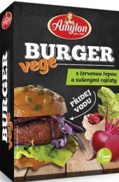 Amylon Vege burger s červenou řepou a sušenými rajčaty