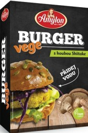 Amylon Vege burger s houbou shiitake