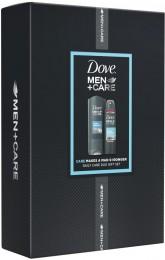 Dove FM Clean Comfort Sprchový gel 250ml + Antiperspirant 150ml