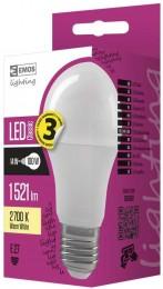 EMOS LED žárovka 14W (náhrada 100W), E27, teplá bílá