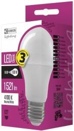 EMOS LED žárovka 14W (náhrada 100W), E27, neutrální bílá