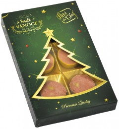 Paté Du Chef Vánoční paštiková bonboniéra