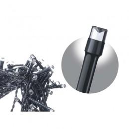 LED řetěz – krápníky, délka 10m, studená bílá, 8 programů