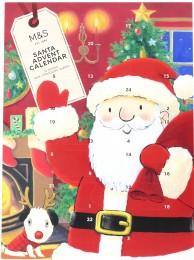 Marks & Spencer Adventní kalendář Santa