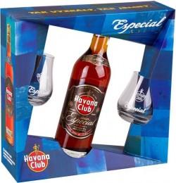 Havana Club Especial 0,7l + 2 skleničky