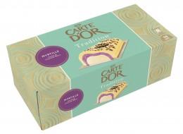 Carte d´Or Zmrzlinová roláda Vanilka, borůvka a bílá čokoláda