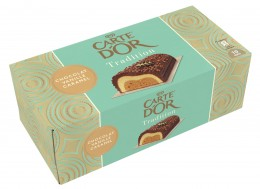 Carte d´Or Zmrzlinová roláda Čokoláda, vanilka, karamel