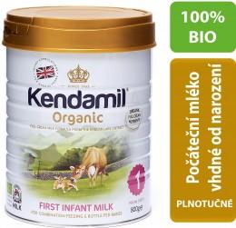 Kendamil 100 % BIO plnotučné kojenecké mléko 1