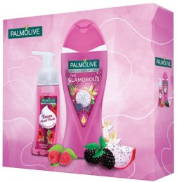 Palmolive Aroma Glamorous Raspberry dárková kazeta