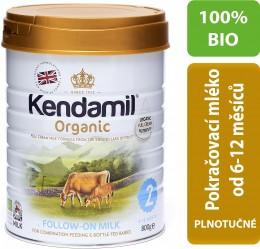 Kendamil 100 % BIO plnotučné pokračovací mléko 2