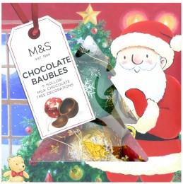 Marks & Spencer 9 jednotlivě balených dutých kuliček z mléčné čokolády