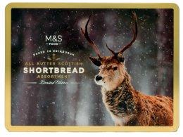 Marks & Spencer Kolekce máslových sušenek s jelenem