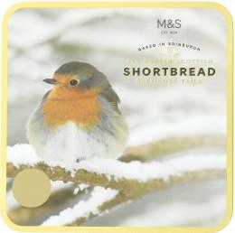 Marks & Spencer Kolekce máslových sušenek motiv ptáčka