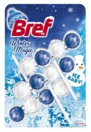 Bref Winter Magic Ice Baby WC blok 3x50g