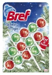 Bref Winter Magic Let is Snow WC blok 3x50g