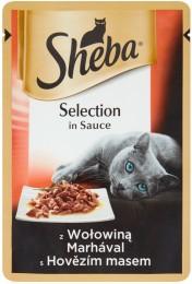 Sheba Selection in Sauce S hovězím masem