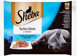 Sheba Rybí výběr 4x85 g
