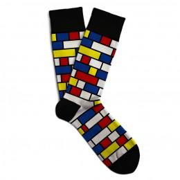 Soxit Mondrian vel.: 36-40 ponožky v dárkovém balení