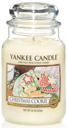 Yankee Candle Classic Christmas Cookie velká vonná svíčka