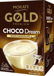 Mokate Gold Premium white chocolate