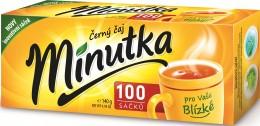 Minutka Černý čaj 100sáčků