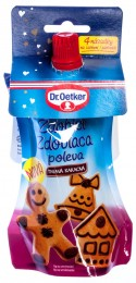 Dr. Oetker Zdobicí poleva tmavá kakaová