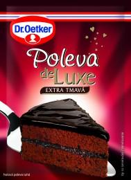 Dr. Oetker Poleva de Luxe Extra tmavá