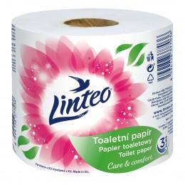 Linteo toaletní papír 3 vrstvý, 1 role, návin 48m