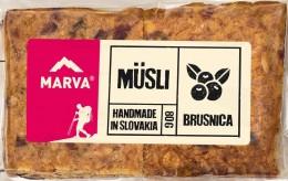 Marva Müsli tyčinka Brusinka