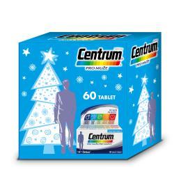 Multivitamin Centrum pro muže 60tbl vánoční