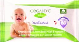 Organyc Dětské čistící ubrousky 60 ks