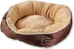 Karlie Chipz pelech pro menší psy, béžový, rozměr 52x46x20cm