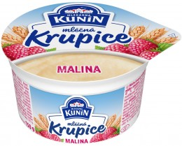 Mlékárna Kunín Mléčná krupice malina