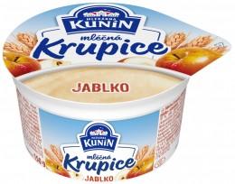 Mlékárna Kunín Mléčná krupice jablko