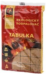 SOLO Tabulka ekologický podpalovač 32ks