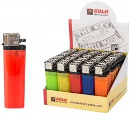 SOLO jednorázový kamínkový zapalovač 1ks