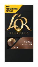 L´OR Forza kapsle pro kávovary Nespresso 10ks