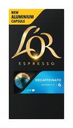 L'OR Decaf kapsle pro kávovary Nespresso