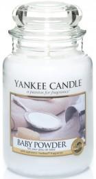Yankee Candle Classic Baby Powder velká vonná svíčka