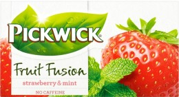 Pickwick čaj Jahody s mátou