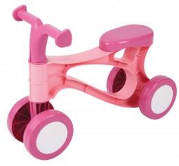 Teddies Odrážedlo Rolocykl růžové