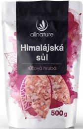Allnature Himalájská sůl růžová hrubá